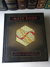 The Math Book - 250 Milestones in the History of Mathematics - leather-bound NEW