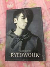 Super Junior Ryeowook Hot Stamping Starcard Star Collection Official PhotoCard