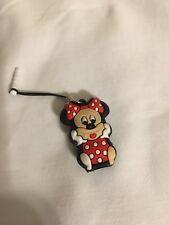Minie Mouse cell phone charm dust plug
