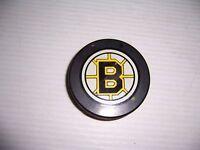 NHL Boston Bruins Hockey Puck