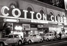 The Cotton Club Poster, Jazz Night Club, Harlem, New York City