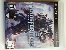 Transformers: Dark of the Moon Ps3!!