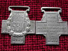 Replica Copy WW1 French Secours aux Blesse Militaires des Armees Medal