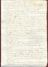 Antico Manoscritto Seicentesco Studio sulla Vestfalia - Colonia 1660 c.a