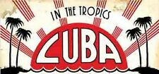 Havana/Habana  CUBA   Vintage-1950's  Style  Travel Decal  Sticker