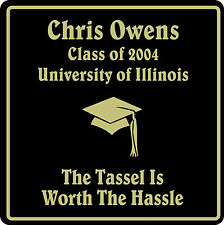 PERSONALIZED GRADUATION GIFT SCHOOL HS COLLEGE SIGN  #5