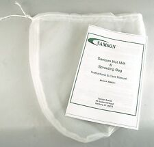 Samson Nut Milk and Sprouting Bag ~Make Nutmilks, Juices, & Grow Sprouts~SB662