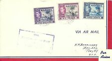 GAMBIA WW2 PERIOD 1ST RETURN FLIGHT F.A.M.22 ,SCARCE