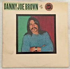 Autographed Danny Joe Brown and the Danny Joe Brown Band Vinyl (Molly Hatchet)