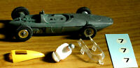 Supplied by DINKY MECCANO No.243 BRM RACING CAR MODEL KIT + FREE DISPLAY BOX