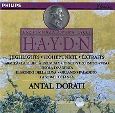 HAYDN: ESZTERHAZA OPERA CYCLE - HIGHLIGHTS / CD