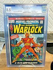1972 Marvel Premiere 1 CGC 8.5 1st Appearance of Him as Adam Warlock! Soul Stone