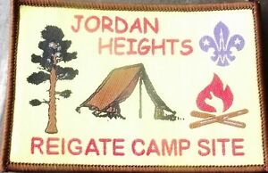 Jordan Heights Scout Camp site badge Reigate