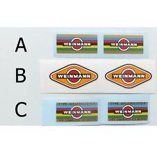 Weinmann rim decals choices A or B