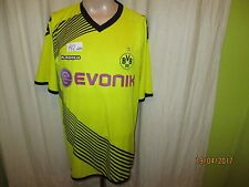 "Borussia Dortmund Original Kappa Ligue des Champions Maillot 2011/12 ""Evonik"" taille XXL"