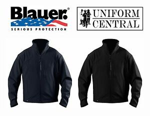 NEW Blauer Softshell Fleece Jacket Black or Dark Navy - Law Enforcement - 4660