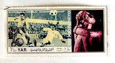 YEMEN Y.A.R. CAMPIONATI DEL MONDO 1970   FRANCOBOLLI  -stamps - timbres -