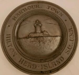 Vintage Harbour Town Hilton Head Island South Carolina Architectural Wall Plaque