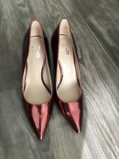 Mix No 6 Womens Shoes Red Heels Size 10
