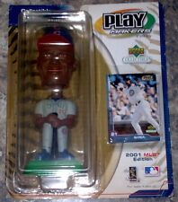 2001 Edition Play Makers Upper Deck Sammy Sosa Bobble Head Toy Free USA Shipping