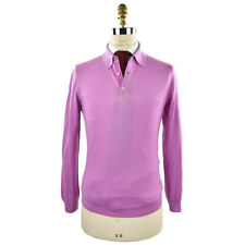 NEW KITON SWEATER POLO CASHMERE AND SILK LITTLE IMPERFECTION 40 US 50 EU USK992