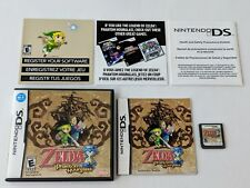 Legend of Zelda Phantom Hourglass Complete - Nintendo DS Lite 3DS TESTED & WORKS