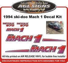 1994 SKI-DOO Mach 1 680 Rotax Reproduction Decal Kit