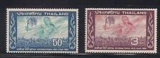 Thailand 1966 Sc # 457-58 Mnh Og (48421)