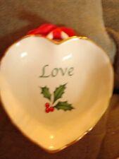 Lenox American By Design Sentiment Heart Dish Love