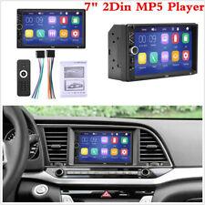7 Inch 2 Din Bluetooth Stereo Touch Screen Radio MP5 Multimedia Player USB/AUX