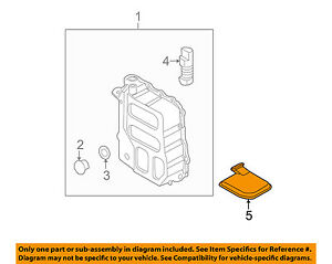 HYUNDAI OEM 11-16 Elantra Automatic Transaxle-Filter 4632126000