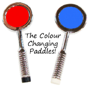 Color Changing Paddles - Easy To Do Magic - Magic Color Changing Paddles