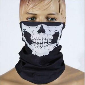 5pcs Skull Face Shield Neck Balaclava Men Scarf UV Cycling Bicycle Scarves Lot