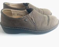 Finn Comfort German Leather Slip On Mules Brown Walking US 5 - 5.5 , Euro 36 D