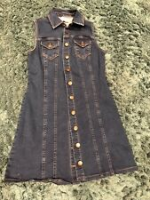 Ladies denim dress with buttons size 8 from New Look