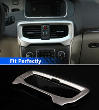 Stainless Interior Center Air Condition Outlet Cover Trim For Volvo V40 2012-17