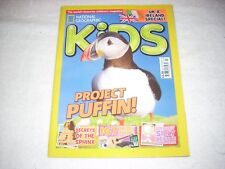National Geographic Kids Magazine Issue 139 July 2017 Puffins