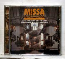 REINHARD GOEBEL, PAUL McCREESH - BIBER Missa Salisburgensis  ARCHIV CD NM
