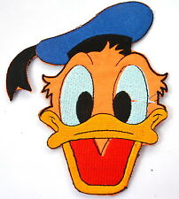 DONALD DUCK HEAD Embroidered Sew Iron On Cloth Patch Badge APPLIQUE