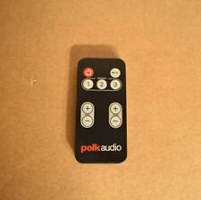 Original Polkaudio Sound Bar System Remote Control For Surround Bar 6000