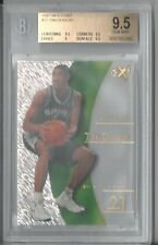 1997-98 E-X2001 #75 Tim Duncan BGS 9.5 Ultra Rare LOW POP CARD HOTT Rookie Card