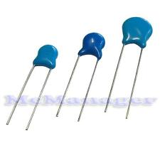 10pF- 10nF 1/2/3 KV High Voltage/HV Ceramic Disc Capacitors 5-100pcs