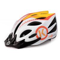 BYK Kids Bike Bicycle Helmet ORANGE Sized 50 - 55cm