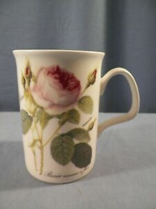 1996 Roy Kirkham, Made in England, REDOUTE ROSE Fine Bone China Mug