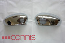 Fiat 500 2007+ grande punto 2005+ punto evo 2009+ chrome door mirror covers new