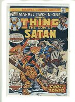 Marvel ComicsTwo-in-One #14 The Thing  & Son of Satan Ghost Town