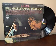 Paul Mauriat and His Orchestra L.O.V.E. LP Philips Record Album