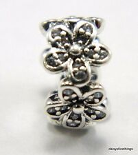 NEW! AUTHENTIC PANDORA CHARM DAZZLING DAISIES SPACER  #792053CZ  P