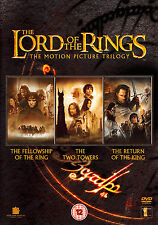 DVD:THE LORD OF THE RINGS - TRILOGY - NEW Region 2 UK