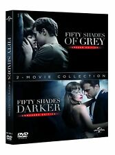 Fifty Shades Darker + Fifty Shades of Grey DVD with Jamie Dornan New (DVD  2017)